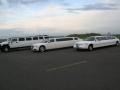 3x limousine Lincoln, Chrysler en Hummer