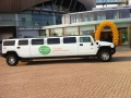 Hummer H2 limo met KPN